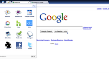 800px Chrome OS screenshot sdres 0001 App Menu 370x247 - Chrome OS : Buzz / No Buzz