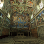 La Chapelle Sixtine 150x150 - La Chapelle Sixtine en 3D