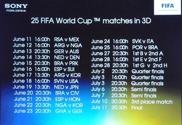 FifaSony3D Planning 360x247 - Match de la coupe du monde en 3D