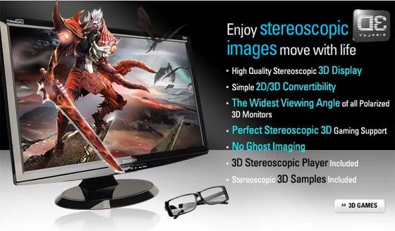 zalman zm m240w ecran 3d relief et lunettes passives 2 - Zalman ZM-M240W : Ecran 3D relief et lunettes passives