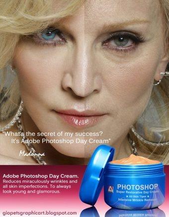 Photoshop - Adobe - Une nouvelle crème Anti-âge RE-VO-LU-TIO-NNAIRE