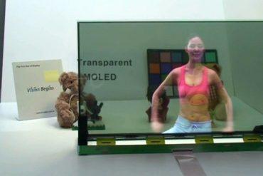 Samsung Transparent 370x247 - Samsung - Premier écran transparent de 19 pouces