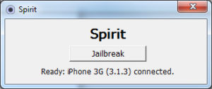 Spirit 300x127 - iPod, iPhone, iPad : Jailbreaker en 1 clic