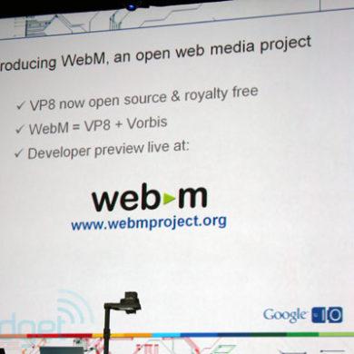 Webm 390x390 - Google - VP8 devient Open Source