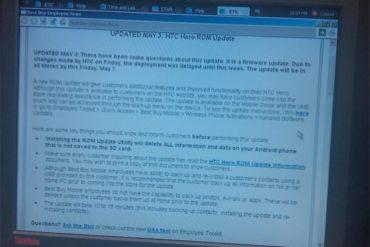 hero sprint 370x247 - HTC Hero : Mise à jour avant le 7 mai ?