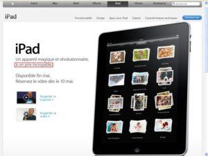 iPad1 300x225 - iPad - Un prix incroyable (sic !)