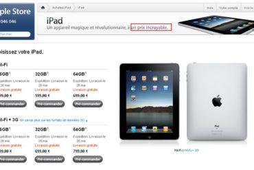 iPad2 370x247 - iPad - Un prix incroyable (sic !)