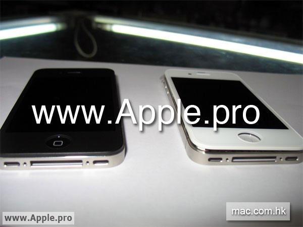 iPhone Blanc - Apple - iPhone blanc en vue