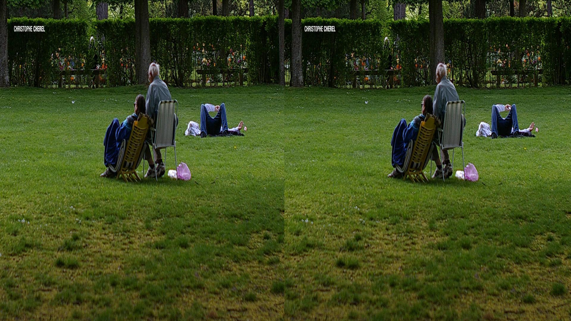 parc - Comment faire des photos 3D avec un appareil photo classique