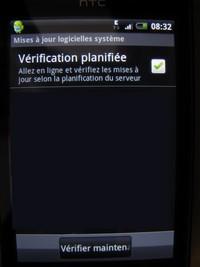 MAJ HTC b - HTC Hero – Android 2.1 en Juillet