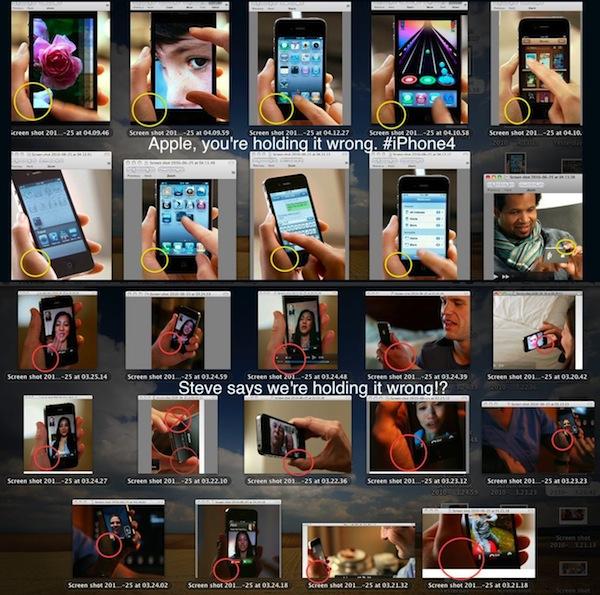 hey apple youre holding it wrong - iPhone 4 : Vous tenez le téléphone dans le mauvais sens !