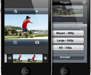 iMovie 300x247 - Apple - iMovie débarque sur App Store