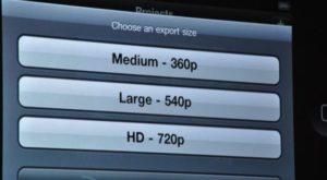 iMovie Export 300x165 - WWDC 2010 - Quelques annonces