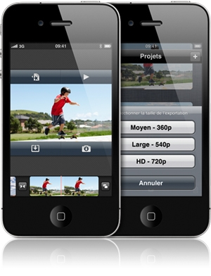 iMovie - Apple - iMovie débarque sur App Store