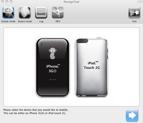 pwnagetool 4 0 - Jailbreak iOS4 : Yes you can