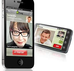iPhone Evo Video 259x247 - Fring - Appel vidéo en 3G