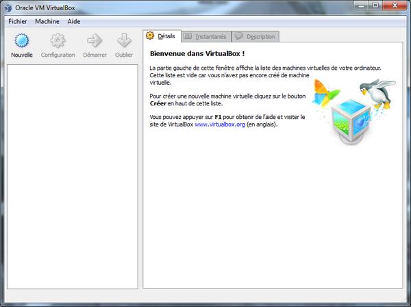 Bienvenue VirtualBox - VirtualBox – Mac OS X sur votre PC (Windows)