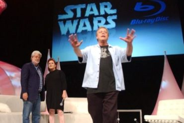 starwarsblu ray 370x247 - George Lucas annonce officiellement Star Wars en Blu-ray pour 2011