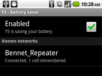 340x battery saver 01 - Android - Y5 Battery Saver, un must-have