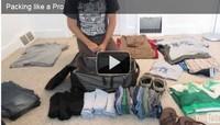 video valise - Une bonne méthode pour faire vos bagages
