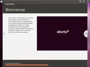 Installation Bienvenue 300x224 - Ubuntu 10.10