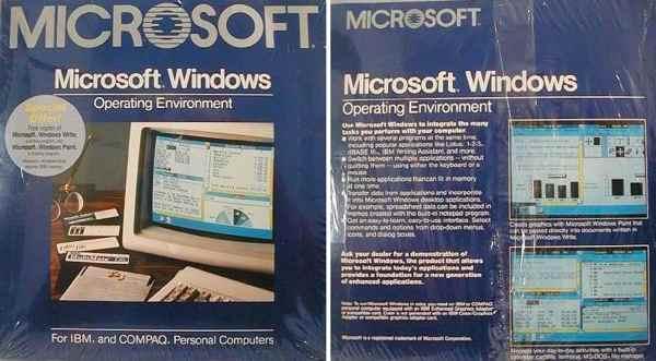 101120 windows 01 - Windows 1.0 fête ses 25 ans