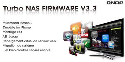 Qnap Firmware 3.3 - QNAP TS-659 Pro+, la nouvelle référence ?
