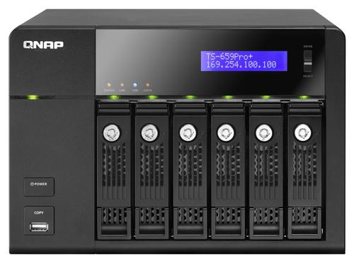 TS 659Pro+ Avant - QNAP TS-659 Pro+, la nouvelle référence ?