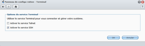Terminal - Synology – Onduleur incompatible