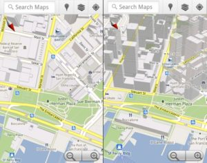 3dMaps 300x236 - Google - Maps passe en version 5.0