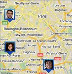 Service Latitude - Google - Latitude est disponible sur App Store