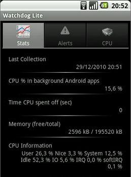 Watchdog - Comment accélérer Android ?