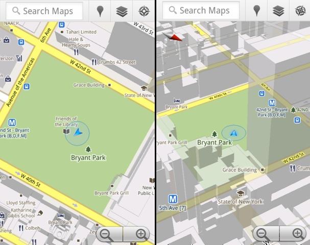 compass - Google - Maps passe en version 5.0