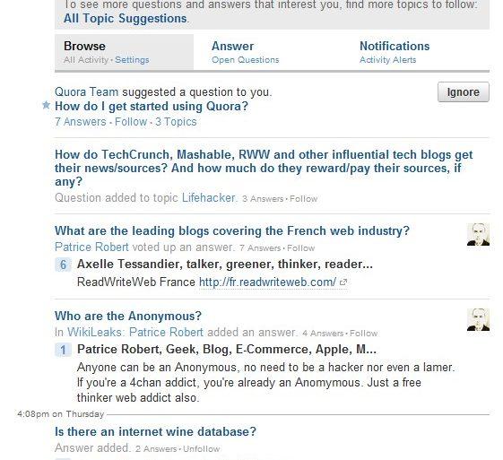 Image Questions Quora