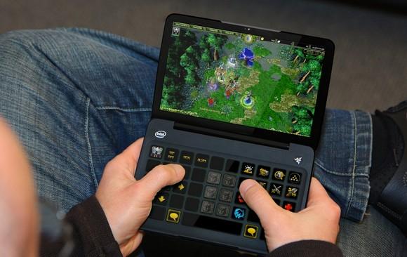 Razer Switchblade Opened - Razer - Un nouveau concept de jeu
