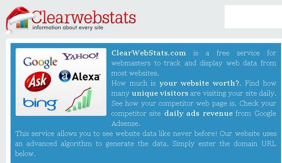 clearwebstats - SEO – Les meilleurs outils gratuits