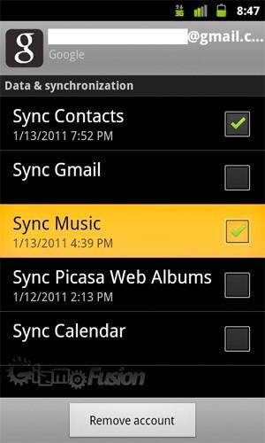 google music sync - Google Music arrive prochainement