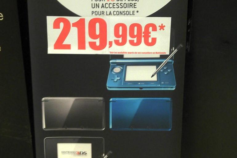 3DS Virgin 770x513 - La Nintendo 3DS arrive dans...