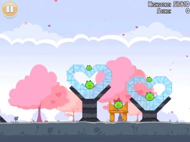 Angry Birds Valentin Image 1 - Les Angry Birds ont leur Saint Valentin