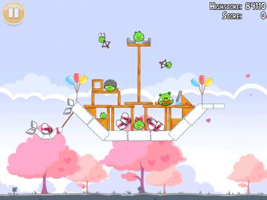 Angry Birds Valentin Image 4 - Les Angry Birds ont leur Saint Valentin