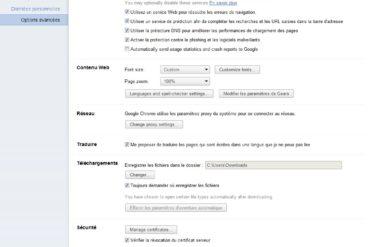 Options Chrome 11 370x247 - Google Chrome 11 est disponible en version bêta