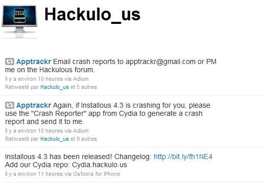 Hackulo us - Mise à jour Installous