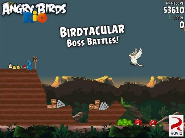 angry birds rio 2 - Angry Birds Rio Gratuit