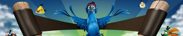 bandeau angry birds RIO - Angry Birds Rio Gratuit