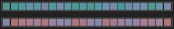 bandeau visuel - Test visuel - Dégradés de couleurs