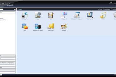 interface admin thecus 370x247 - Thecus - Mise à jour du Firmware