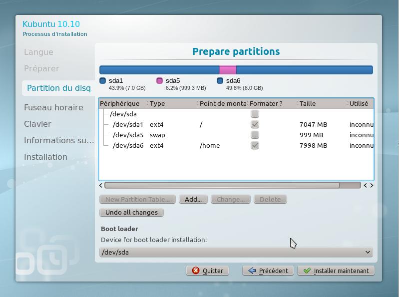 12 - 15 minutes pour installer GNU Linux!!