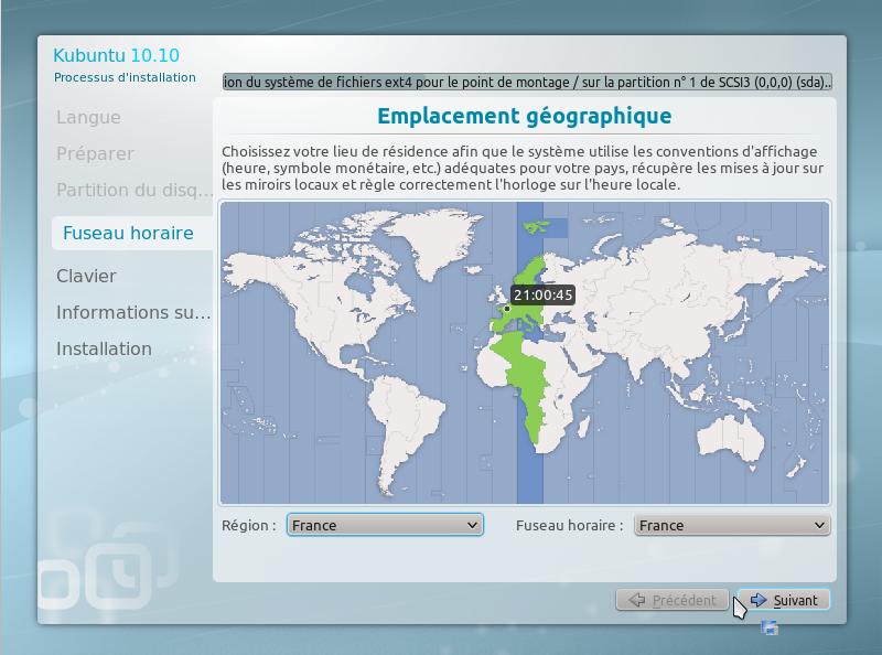13 - 15 minutes pour installer GNU Linux!!