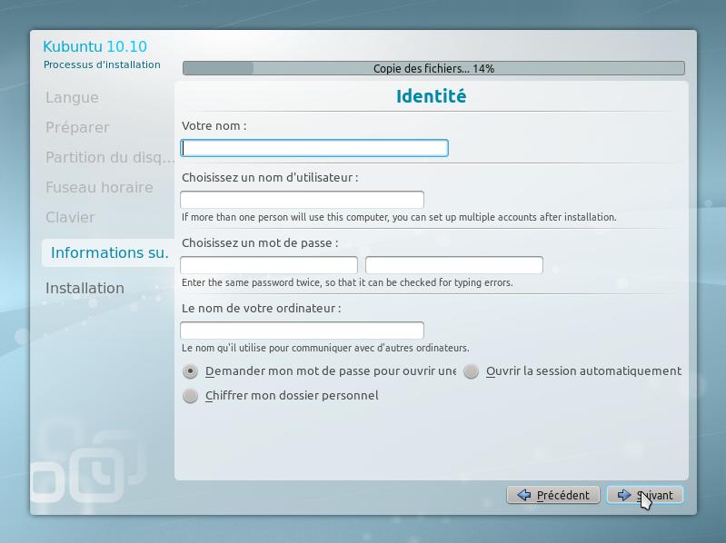 15 - 15 minutes pour installer GNU Linux!!