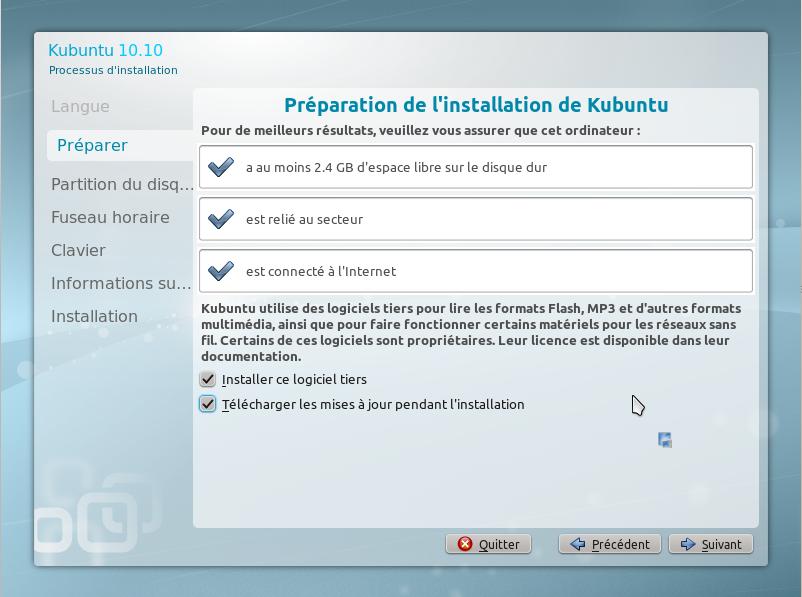7 - 15 minutes pour installer GNU Linux!!
